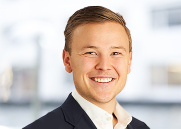 Håkon Dalland, Senior associate, rådgivning