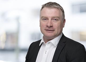 Knut Haugen, leder for revisjon i Harstad