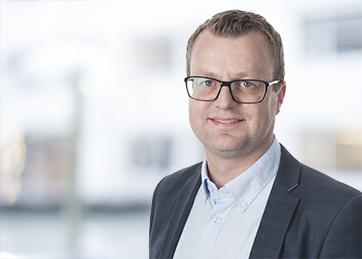 Bilde av Lars Terje Klæth, leder av Stjørdal-kontoret